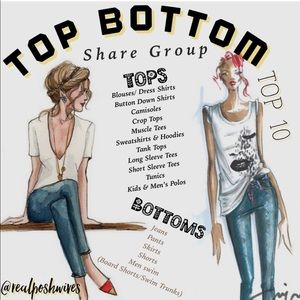 👚TOPS AND BOTTOMS👖OPEN 8/24